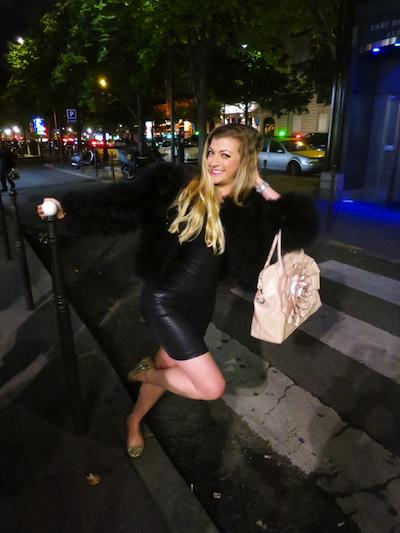 Blonde crosswalk